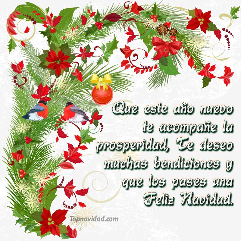 Frases Cortas para Navidad y Año Nuevo