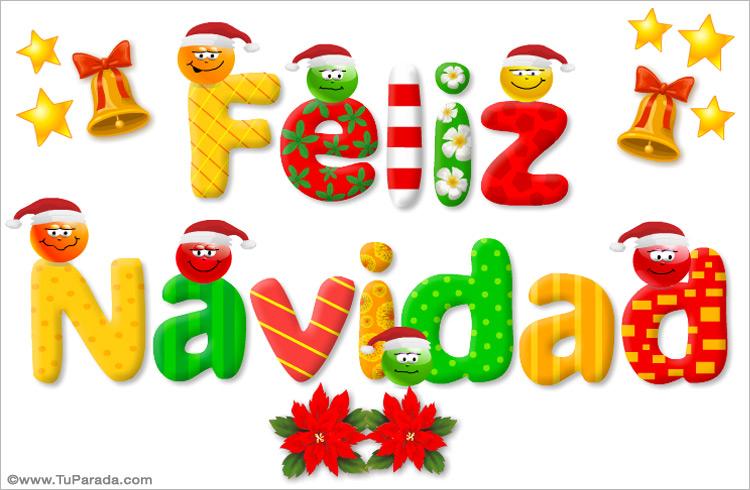 tarjetitas de feliz navidad para todos