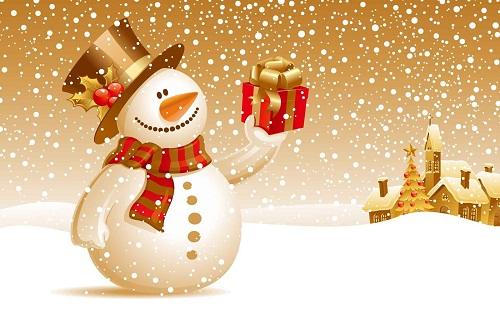 Imagen de Muñeco de Nieve para Navidad
