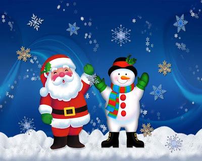 Imagenes de Papa Noel gratis