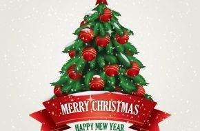 Árbol de Navidad para Tarjetas