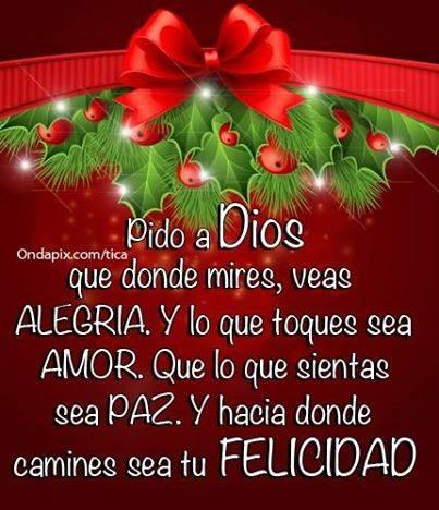 Bonitas Frases de Navidad para Compartir en Facebook