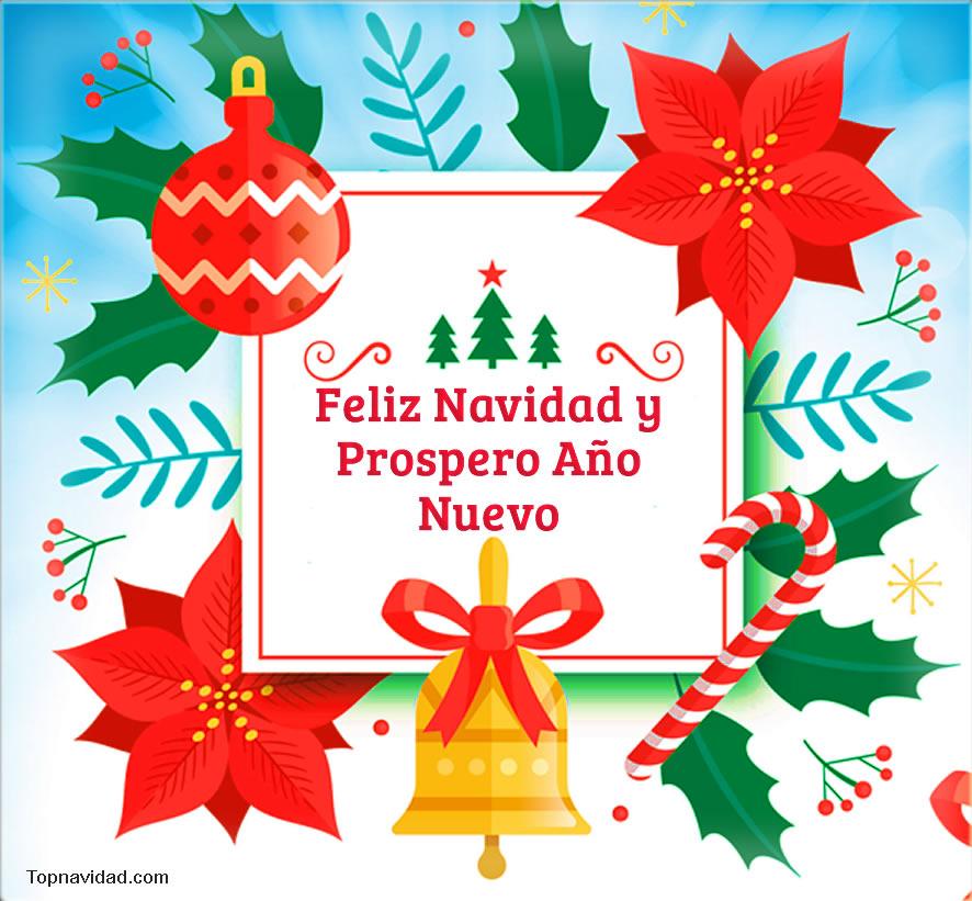 Bonitas Tarjetas con Felicitaciones Navideñas