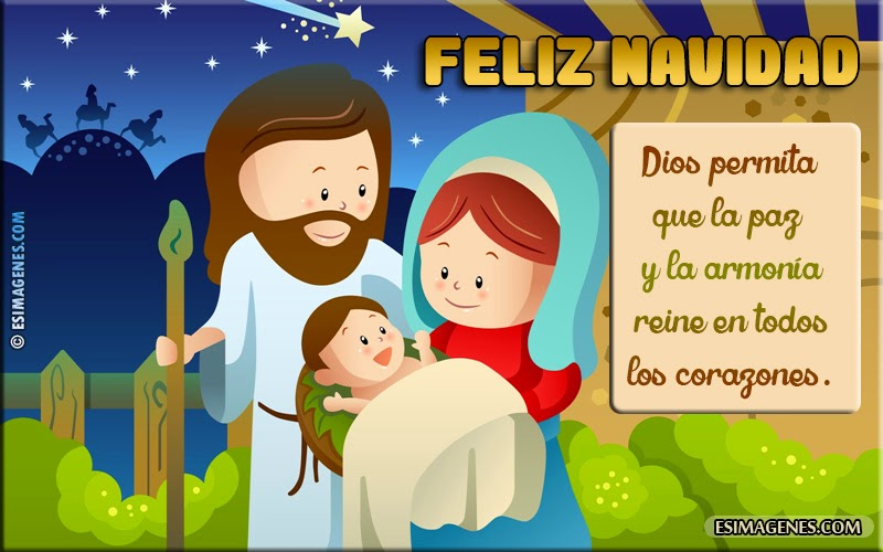 Bonitas Tarjetas y postales de navidad 2015