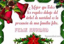 Felicitaciones Cortas de Navidad para la Familia