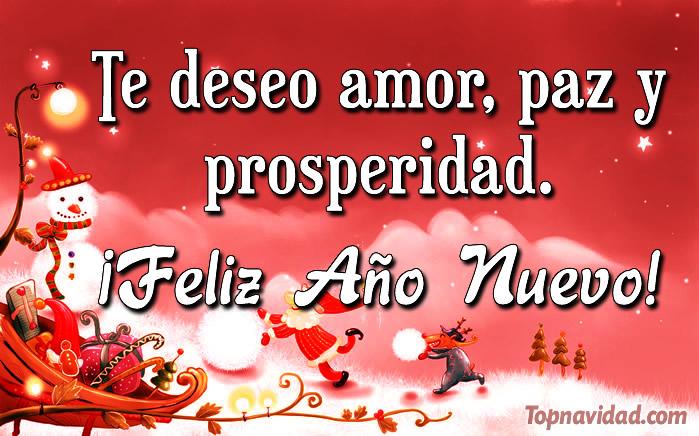 Buenos deseos para año nuevo