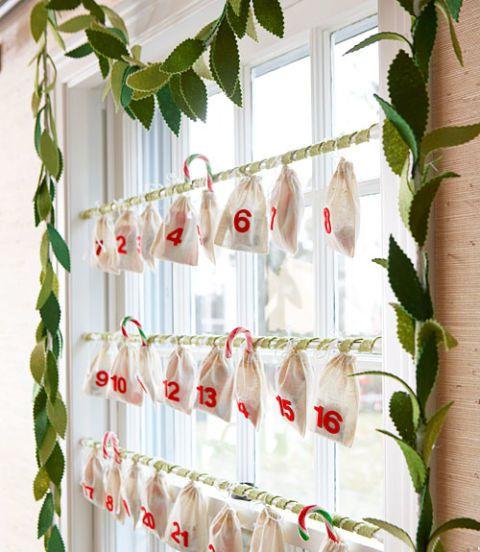 Calendarios de navidad para ventana