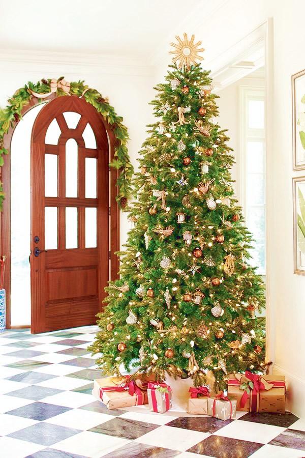 Decoraciones de arbol de navidad