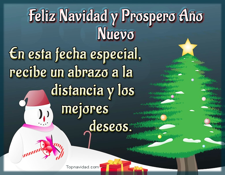 Descargar Imágenes Feliz Navidad y Prospero Año Nuevo