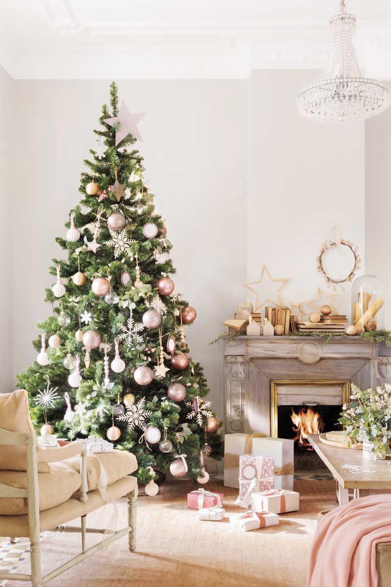 Docoración de hogar para navidad