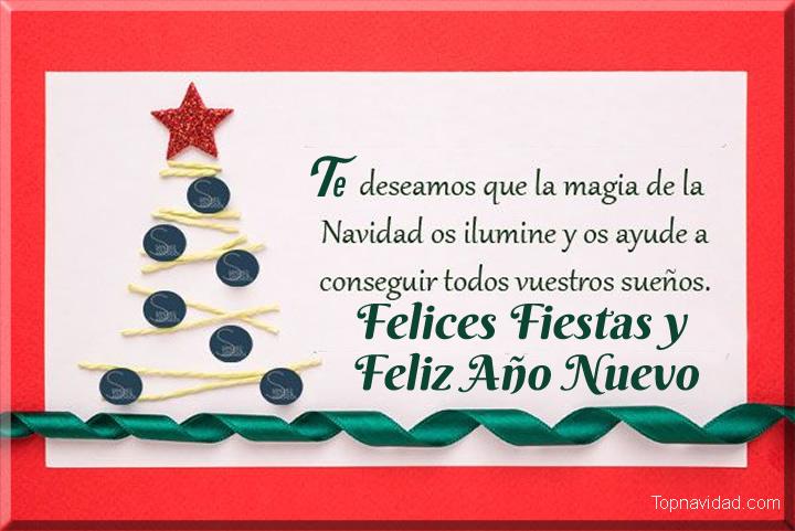Frases bonitas de Felices Fiestas y Feliz Año Nuevo