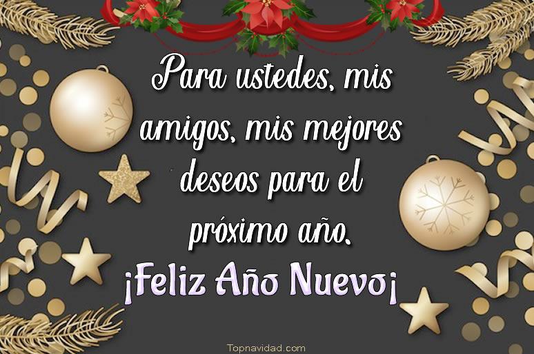 Felices Fiestas y Feliz Año Nuevo para felicitar