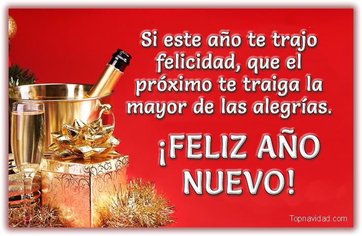 Felicitaciones 1 de Enero Año Nuevo