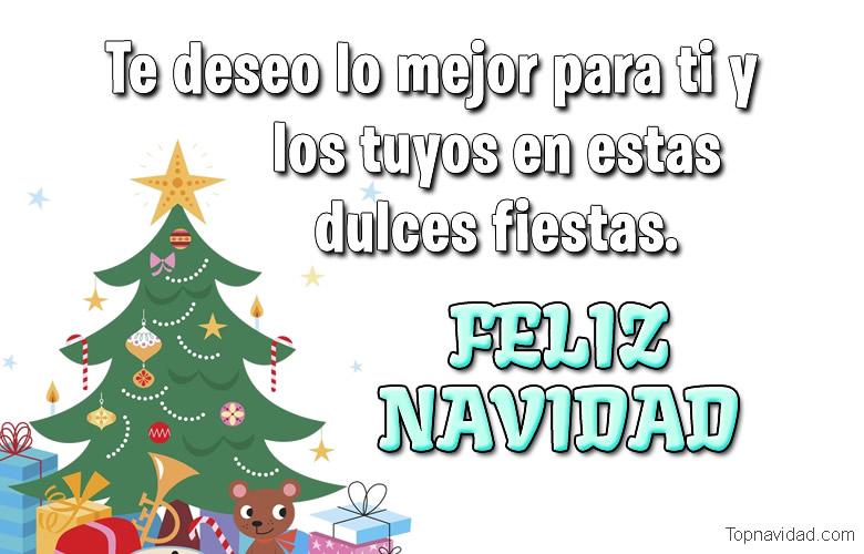 Felicitaciones Bonitas de Navidad para Compartir