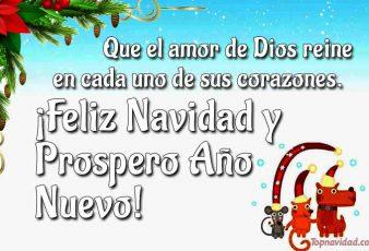 Bonitas Felicitaciones cristianas de Navidad
