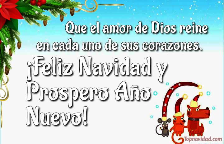 Felicitaciones cristianas para Navidad