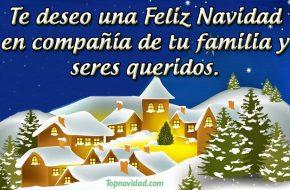 Felicitaciones de Feliz Navidad para la Familia
