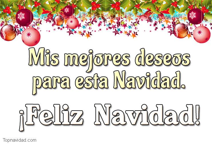 Felicitaciones de amor para Navidad