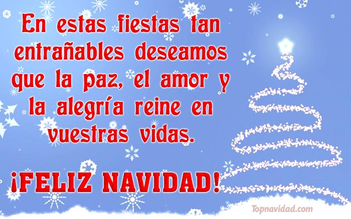 Felicitaciones de Navidad para Facebook