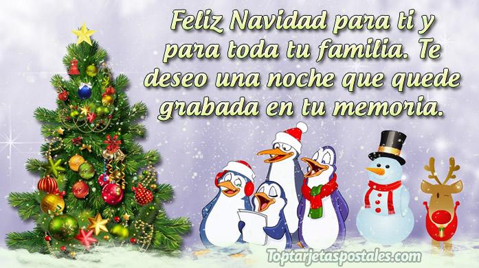 Mensajes de Navidad para compartir en Familia
