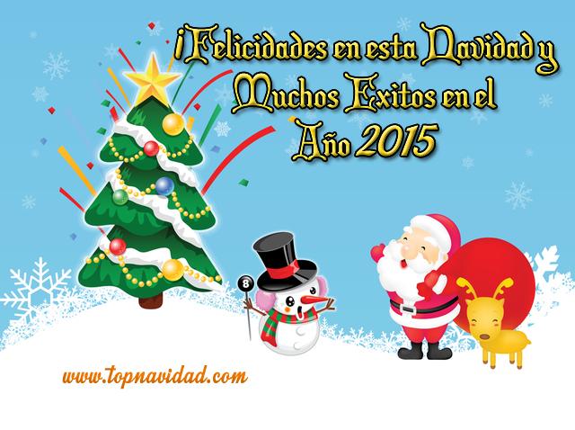 Felicitaciones de Navidad y Año Nuevo 2015