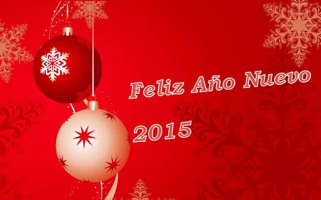 Felicitaciones de año nuevo para facebook