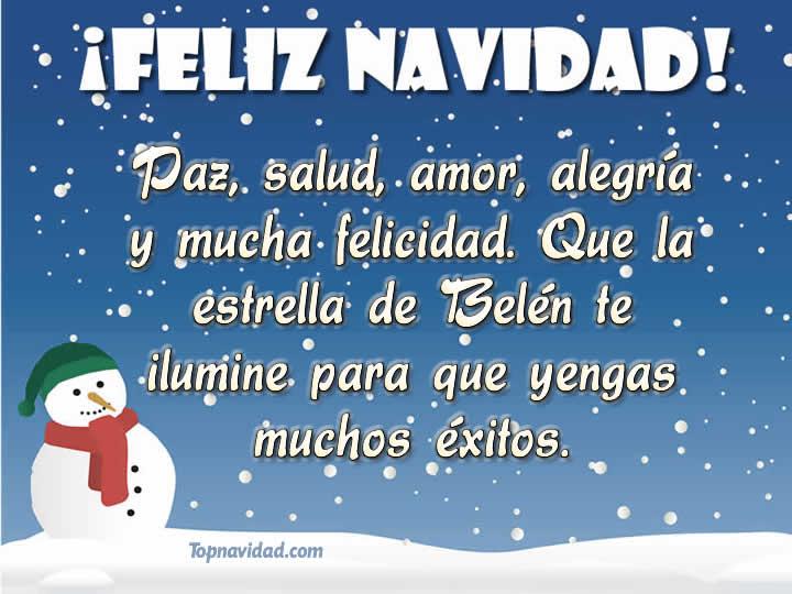 Felicitaciones de navidad con buenos deseos
