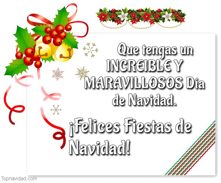 Felicitaciones de navidad para 25 de diciembre