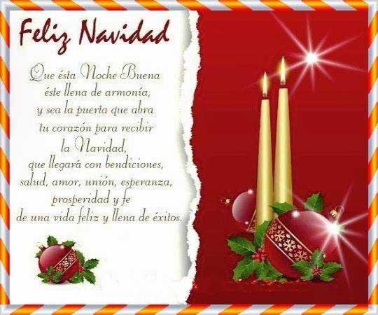 Felicitaciones de navidad para buenos exitos