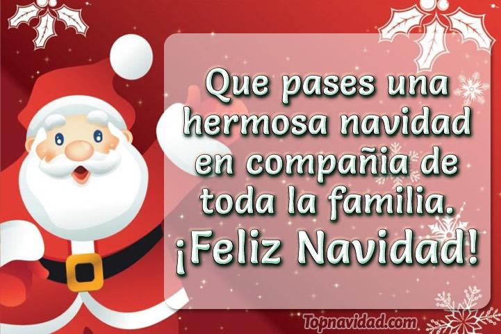 Felicitaciones de feliz navidad