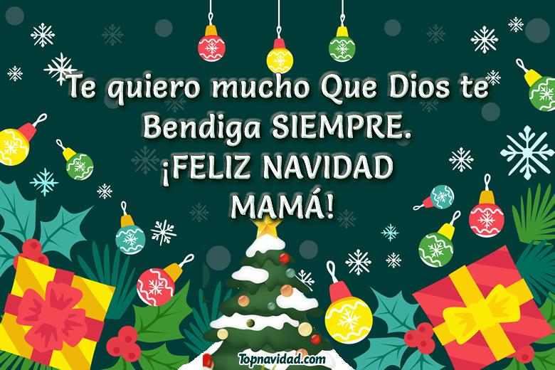 Felicitaciones de navidad para mi mamá