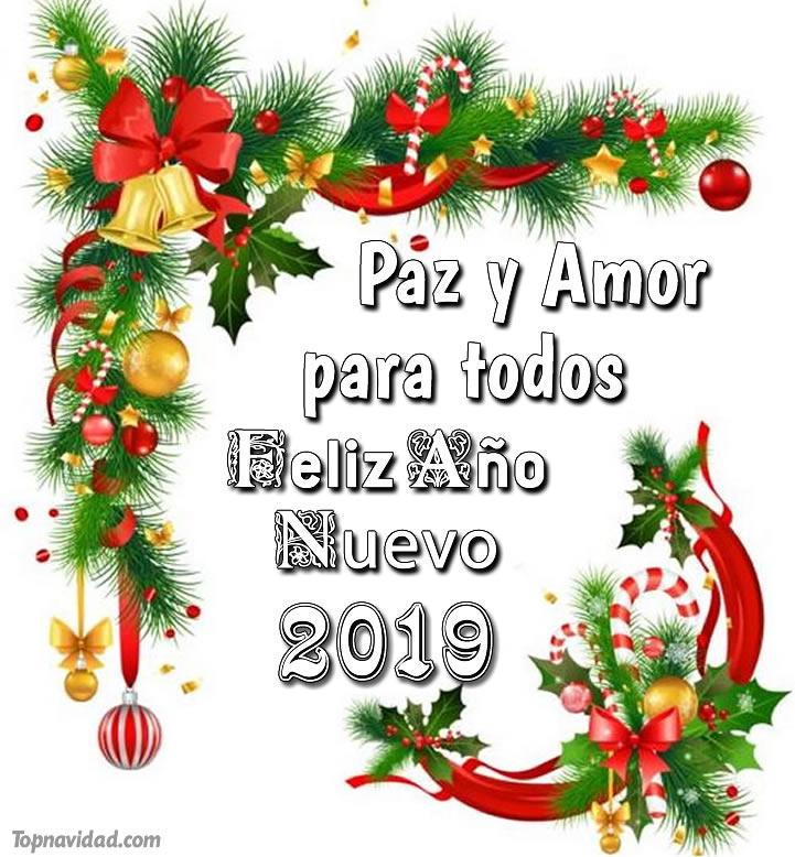 Felicitaciones para año nuevo 2019