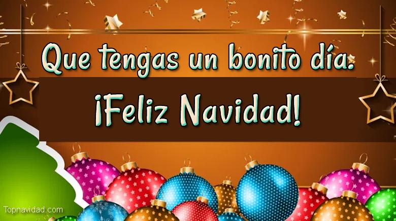 Felicitaciones Bonitas de Felices Fiestas de Navidad
