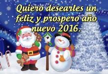 Feliz Año Nuevo 2016 para compartir