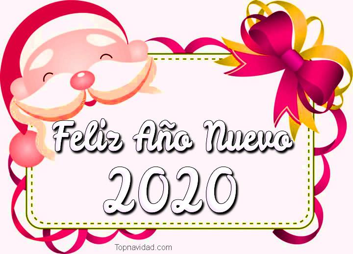 Feliz Año Nuevo 2020 para felicitar