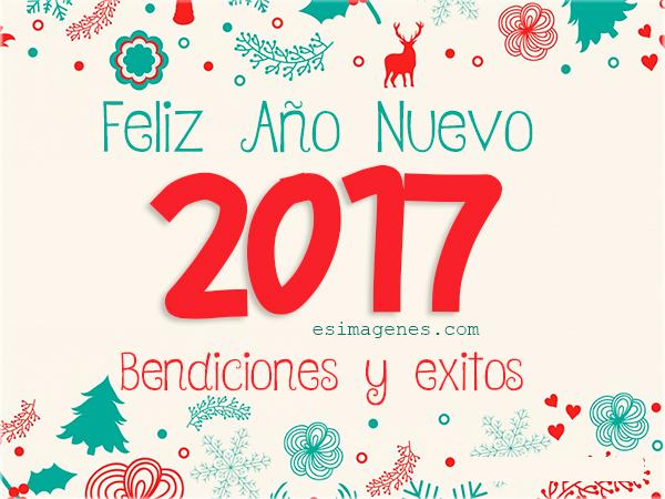 Imágenes con frases de Feliz Año nuevo 2017