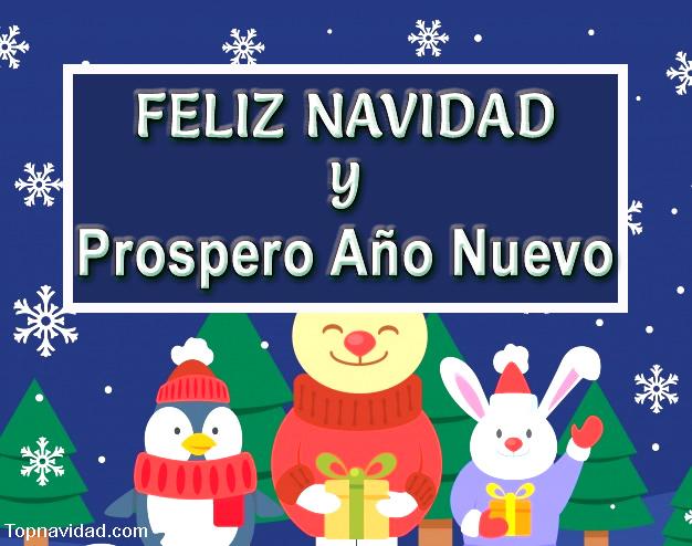 Feliz NAVIDAD y Prospero Año Nuevo para Compartir