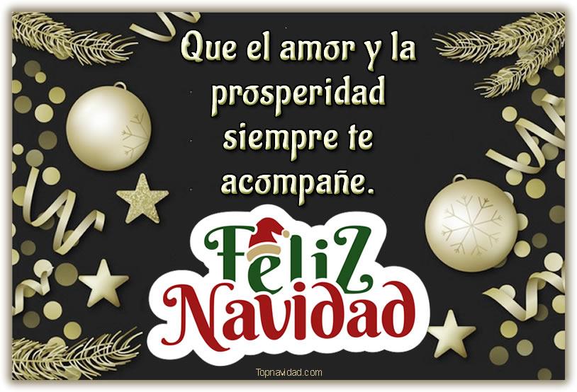 Feliz Navidad Letreros para Felicitar