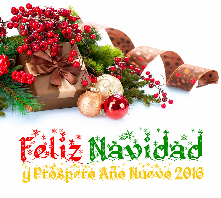 feliz navidad y prospero ao nuevo