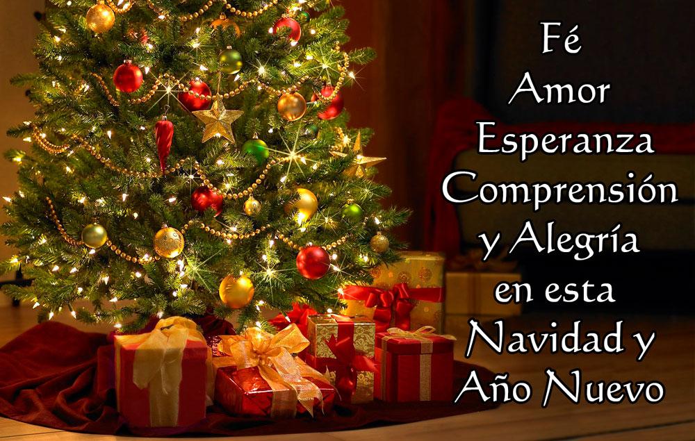 Tarjetas de feliz navidad y prospero a o nuevo 2018 - Felicitaciones cortas de navidad y ano nuevo ...