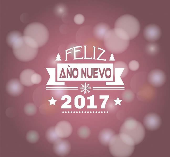 Tarjetas con frases de feliz a o nuevo 2017 para felicitar - Frases originales para felicitar el ano nuevo ...