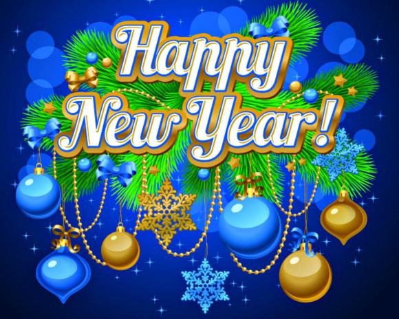 Feliz año nuevo en Ingles para compartir gratis