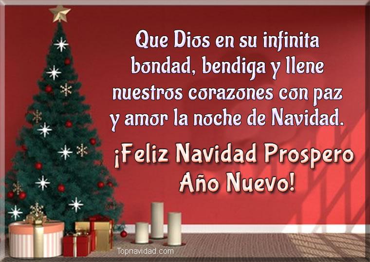 Feliz navidad y prospero año nuevo Gratis