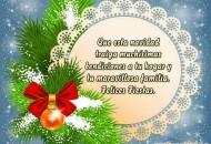 Tarjetas Virtuales de Navidad con Frases Cortas