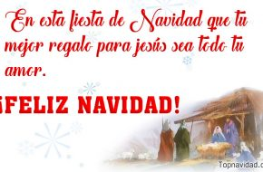 Imágenes con Frases Cristianas de Navidad