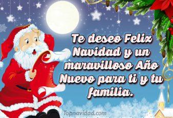 Frases con felicitaciones de Navidad y fin de año