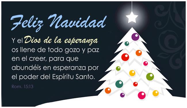 Mensajes de felicitacion de navidad cristianos