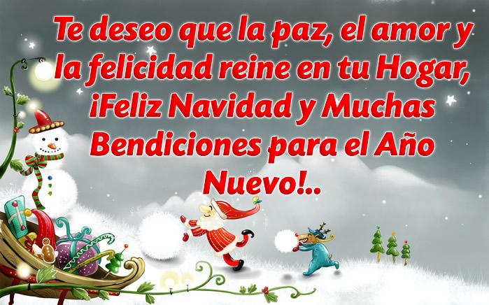 Tarjetas Y Frases De Navidad Para Los Amigos Imágenes De