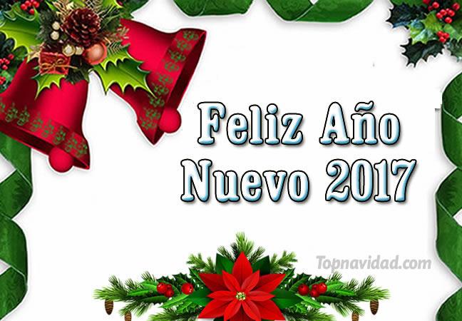 Tarjetas con frases de feliz a o nuevo 2017 para felicitar - Frases de navidad 2017 ...