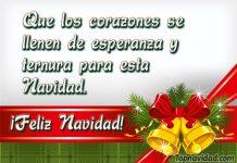 Imágenes de Feliz Navidad con Frases Cortas